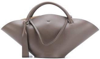 Jil Sander Calf Leather Bucket Bag