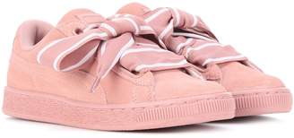 Puma Heart suede sneakers