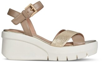 Geox D Torrence Wedge Sandals