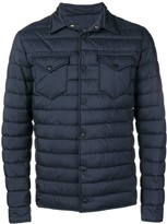 Herno quilted shirt jacket