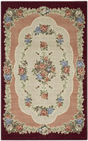 JCPenney Brumlow Rosewood Washable Rectangular Rug