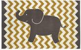 Viv + Rae Brynn Lucky Elephant Yellow Kids Rug