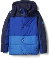 Gap ColdControl Max colorblock puffer jacket