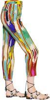 Etro Printed Silk Cady Pants