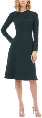 Kay Unger Solid Dress