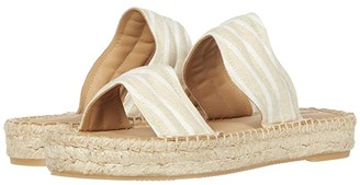 Soludos Aarin Espadrille Sandal (Tan/Ivory) Women's Shoes