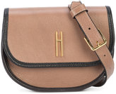 Hayward branded belt bag - women - Bullhide Leather/Calf Suede - One Size