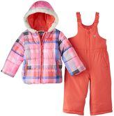 Osh Kosh Girls 4-6x Print Puffer Jacket & Snow Pants Set