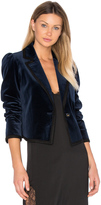 Frame Velvet Band Jacket
