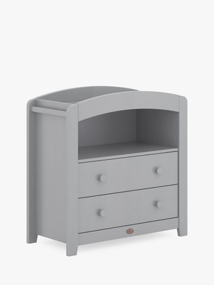 Boori Alice Curved 2 Drawer Dresser, Pebble