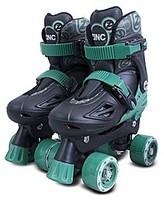 Zinc Adjustable Quad Skates - Black