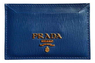 Prada Navy Leather Purses, wallets & cases