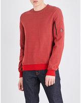 Cp Company Lens-detail Cotton-blend Sweatshirt