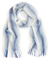 Nordstrom Women's Striped Cashmere Scarf