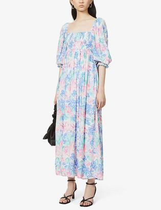 Faithfull The Brand Brisa floral-print woven midi dress
