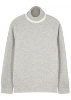 Levi's Made & Crafted Grey Roll-neck Jersey Jumper