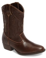 Frye Girl's Carson Firebird Cowgirl Boot