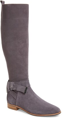 Ted Baker Sintial Knotted Strap Knee High Boot