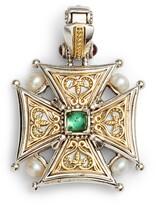 Konstantino Hestia Topaz Cross Pendant