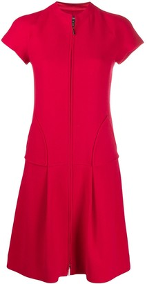 Emporio Armani Low-Waist Short Dress
