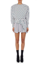 Balenciaga Women's Uplift Star Jacquard & Striped Dress