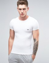 Emporio Armani Muscle Fit T-shirt With Shiny Logo