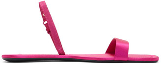 Alexander Wang Pink Foldable Ryder Sandals