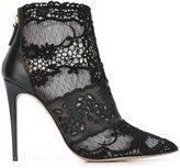 Valentino Garavani lace ankle boots
