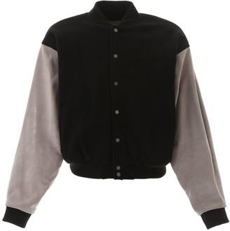 Fear Of God Contrasting Sleeve Varsity Jacket