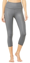 Alo Yoga High-Waist Airbrush Cropped Leggings