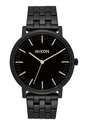 Nixon Unisex Adult Analogue Quartz Watch with Stainless Steel Strap A10571031-00