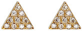 Jennifer Meyer Women's Triangle Stud Earrings