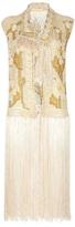 Italian Tailored Vintage Fringed waistcoat