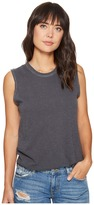 Alternative Inside Out Slub Sleeveless T-Shirt Women's Sleeveless