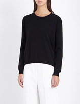 Allude Wool and cashmere-blend jumper