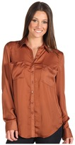 Brigitte Bailey Krista Blouse (Spiced Rum) - Apparel