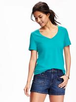 Old Navy Relaxed V-neck Tee for Women