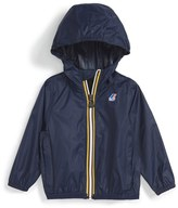 K-Way Infant 'Claude 3.0' Hooded Waterproof Windbreaker Jacket