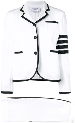 Thom Browne 4-Bar Loopback Jersey Suit