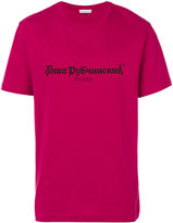 Gosha Rubchinskiy logo print T-shirt - men - Cotton - S