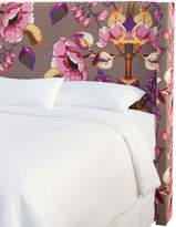 Skyline Furniture Upholstered Slipcover Bed