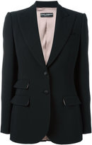 Dolce & Gabbana double pocket front blazer - women - Silk/Spandex/Elastane/Virgin Wool - 42