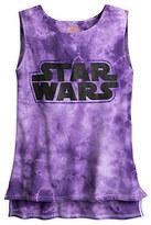 Disney Star Wars Logo Tie-Dye Tank Tee for Women by Star Wars Boutique