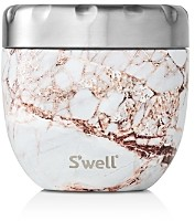 Swell Eats Small Calacatta Gold Marble Print Food Container 16 oz.