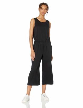 Daily Ritual Amazon Brand Women's Tencel Sleeveless V-Back Jumpsuit
