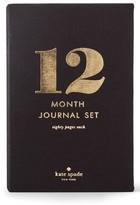 Kate Spade 12 Month Journal Set - Black