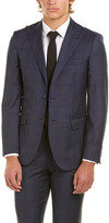 English Laundry Wool Suit With Flat Pant
