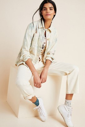 Anthropologie Tie-Dyed Utility Jacket