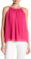 Laundry by Shelli Segal Solid Drawcord Tank