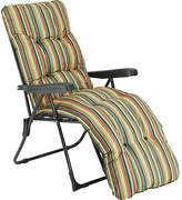 Peppa Pig Striped Foldable Multi-Position Sun Lounger with Cushion